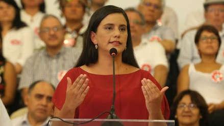 Verónika Mendoza: Vizcarra debió cerrar el Congreso el 28 de julio por desnaturalización de la reforma política