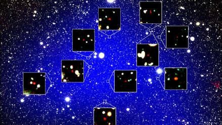 ¡Impresionante! Científicos descubren cúmulo de galaxias de 13,000 millones de años de antigüedad