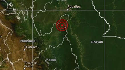 Huánuco   Un sismo de magnitud 4.5 sacudió esta noche Puerto Inca