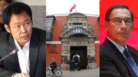 Kenji Fujimori pide postergar elección del TC y señala que no se puede vacar a Vizcarra