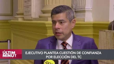 Luis Galarreta admitió reunión con Salvador del Solar antes de votación de adelanto de elecciones