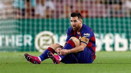 Preocupación en Barcelona sobre la lesión de Lionel Messi