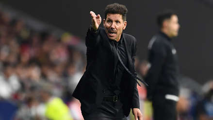 Diego Simeone sobre el insulto de Sergio Ramos al línea:
