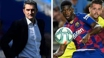 ¿Llegará al partido contra Inter? Ernesto Valverde dio detalles de la situación de Ousmane Dembelé