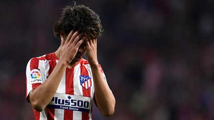 ¡Se la perdió! Joao Félix casi abre el marcador en el partido entre Atlético de Madrid y Real Madrid