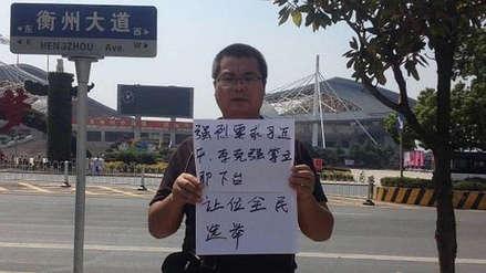 ONG exige investigar muerte de activista que pidió la renuncia del presidente chino Xi Jinping