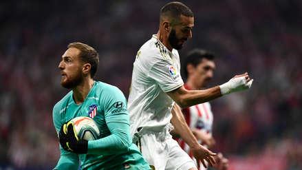 ¡Enorme! La gran atajada de Jan Oblak al remate de Karim Benzema en el Real Madrid vs. Atlético de Madrid