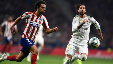 No se hicieron daño: Atlético de Madrid y Real Madrid igualaron 0-0 en el Wanda Metropolitano