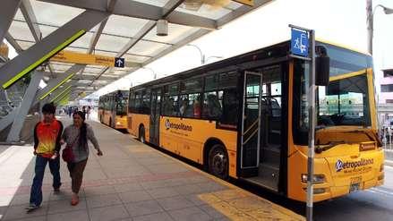 Municipalidad de Lima: Incremento de tarifa en el Metropolitano