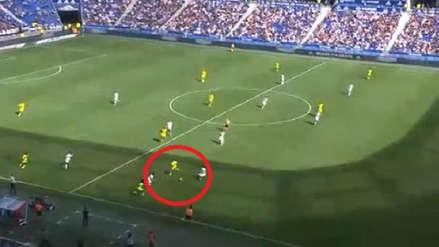 Cristian Benavente se lució con un genial pase de taco en el gol del triunfo de Nantes ante Lyon