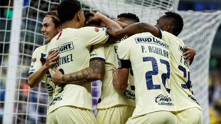 América goleó 4-1 al Guadalajara y acabó con su racha sin triunfos