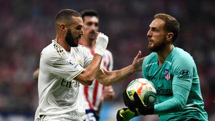 Real Madrid vs. Atlético de Madrid empataron 0-0 en un partido intenso y con poco juego