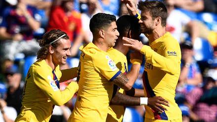 Barcelona ganó 2-0 a Getafe por la séptima jornada de LaLiga