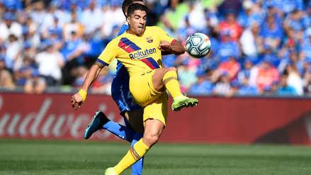 Barcelona vs. Getafe: Luis Suárez anotó de 'sombrerito' tras espectacular pase de Ter Stegen