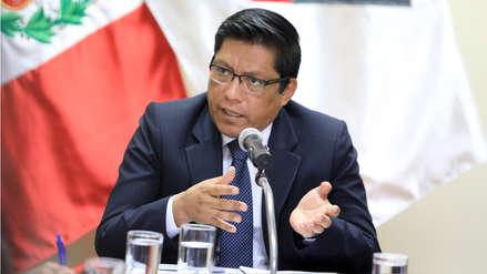Ministro de Justicia: