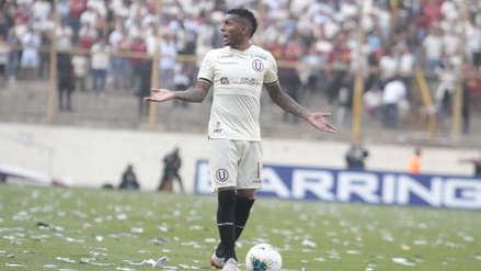 Alberto Quintero tras darle la victoria a Universitario