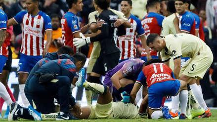 ¡Escalofriante! La dura entrada que lesionó a Giovani Dos Santos en el América vs. Chivas