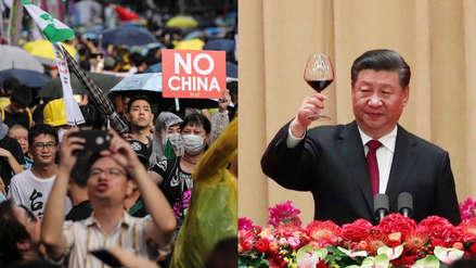 China: El presidente Xi Jinping promete respetar la autonomía de Hong Kong