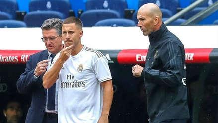 Zinedine Zidane volvió a defender a Eden Hazard: