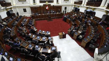 Congreso admitió a trámite la moción de vacancia contra Martín Vizcarra