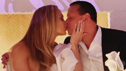 Jennifer Lopez y Alex Rodríguez: Así fue su fiesta oficial de compromiso