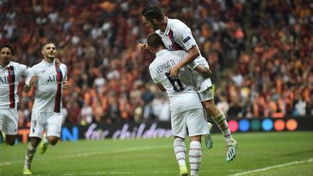 ¡Gran comienzo! Mauro Icardi le dio el 1-0 a PSG ante Galatasaray por Champions League