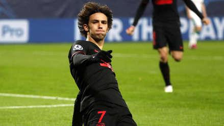 ¡Abrió el marcador! Joao Félix anotó el 1-0 en el Atlético de Madrid vs. Lokomotiv por la Champions League