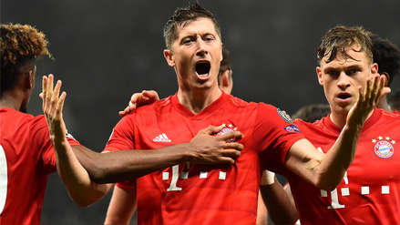 Imposible de atajar: el esquinado remate de Robert Lewandowski que terminó en gol de Bayern Munich