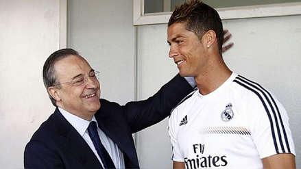 Florentino Pérez le ofreció a Cristiano Ronaldo ser embajador del Real Madrid, según medio español