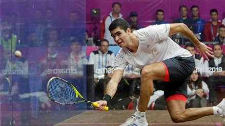 ¡Nuevo logro! Diego Elías alcanzó el mejor puesto de su carrera en el ranking mundial de Squash
