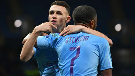 Manchester City venció 2-0 al Dinamo Zagreb como local en la Champions League