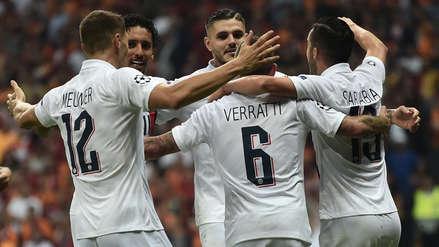 ¡Segunda victoria! PSG ganó 1-0 a Galatasaray por el grupo A de la Champions League