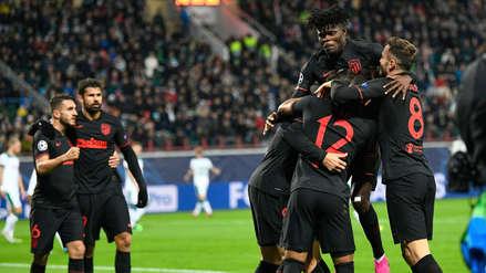 ¡Abultó el marcador! Thomas Partey anotó el segundo gol de Atlético de Madrid ante Lokomotiv