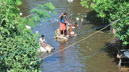 Al menos 130 muertos en las inundaciones que asolan el norte de la India
