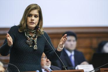 Mercedes Aráoz sobre su toma de mando: Fue