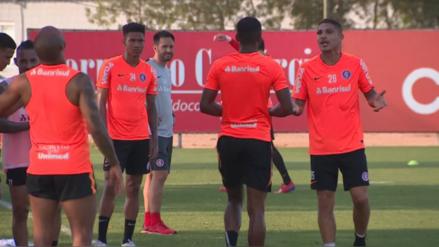 ¡Casi se van a las manos! Paolo Guerrero discutió con compañero en la práctica de Inter de Porto Alegre