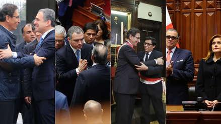 Disolución del Congreso | 15 fotos que resumen la agitada jornada del lunes en Parlamento y Palacio