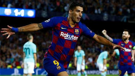 Luis Suárez anotó el gol del triunfo de Barcelona tras mágica jugada de Lionel Messi