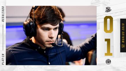Worlds 2019 | Isurus Gaming pierde ante Splyce y queda segundo en el primer día del Play-In