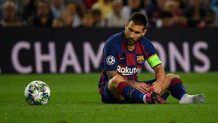 Lionel Messi tras la victoria de Barcelona: