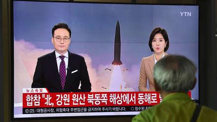 Corea del Norte ensaya con misiles antes de diálogo con Estados Unidos