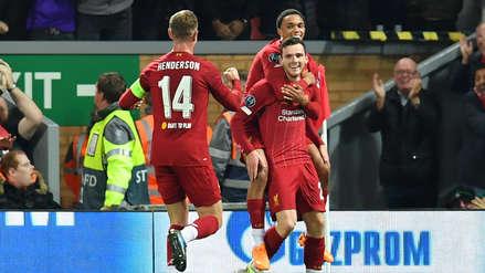 ¡Se imponen los 'Reds'! Andrew Robertson marcó el segundo gol de Liverpool ante RB Salzburgo