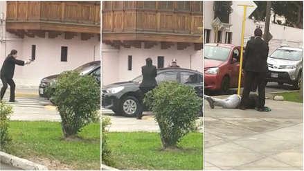 Trabajador de la Municipalidad de Jesús María disparó contra ladrones y frustró asalto