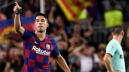 ¡Golazo! Luis Suárez anotó ante el Inter de Milán tras sensacional volea