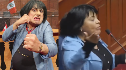 Carlos Álvarez presenta a 'Esther Chaveta', su parodia de la excongresista que retó a un colega a pelear