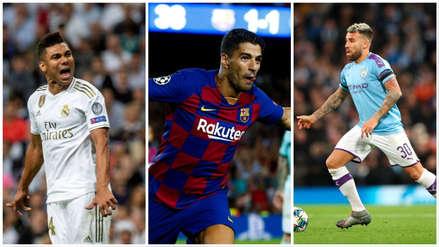 Champions League 2019-2020: XI ideal de la segunda fecha de la fase de grupos del torneo continental | FOTOS