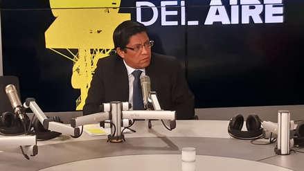Zeballos niega que se le haya impedido el ingreso a Palacio de Gobierno a Mercedes Aráoz