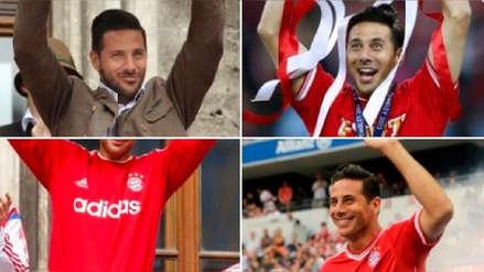 Claudio Pizarro cumplió 41 años y recibió efusivo saludo de Bayern Munich