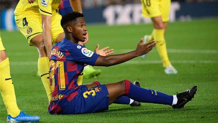 ¡Malas noticias para la nueva estrella del Barza! Ansu Fati aún no tiene los papeles para jugar con España