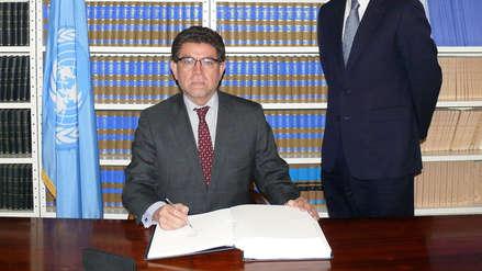 Gustavo Meza-Cuadra será el nuevo canciller del gabinete de Zeballos